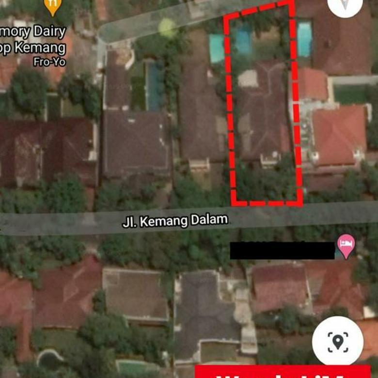 RUMAH ASRI at Jl KEMANG DALAM, JAKARTA SELATAN T/B. 1150/805