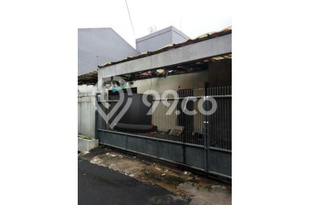 Rumah Tomang Hitung Tanah Lokasi Ok Jalan Lebar Bebas Banjir 16226653