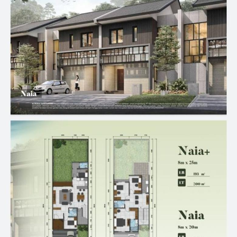 Dijual Rumah Nyaman Asri di Alam Sutera Tangerang