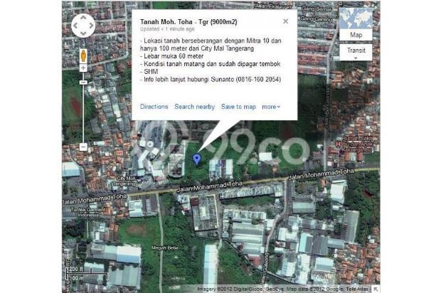 Tanah Komersial Moh. Toha 119785