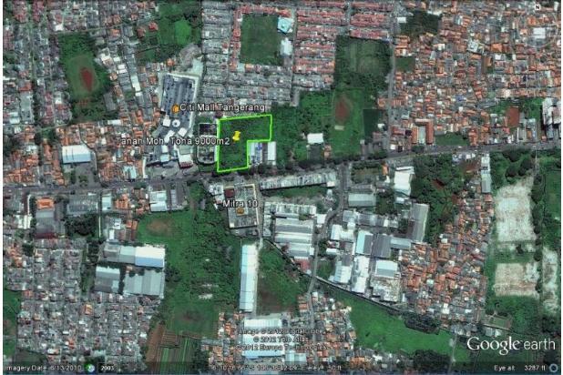 Tanah Komersial Moh. Toha 119787