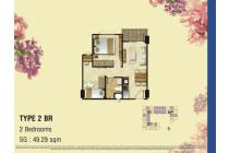 Dijual Apartement Type 2BR Signature Park Grande Daerah Tebet Mt.Haryono