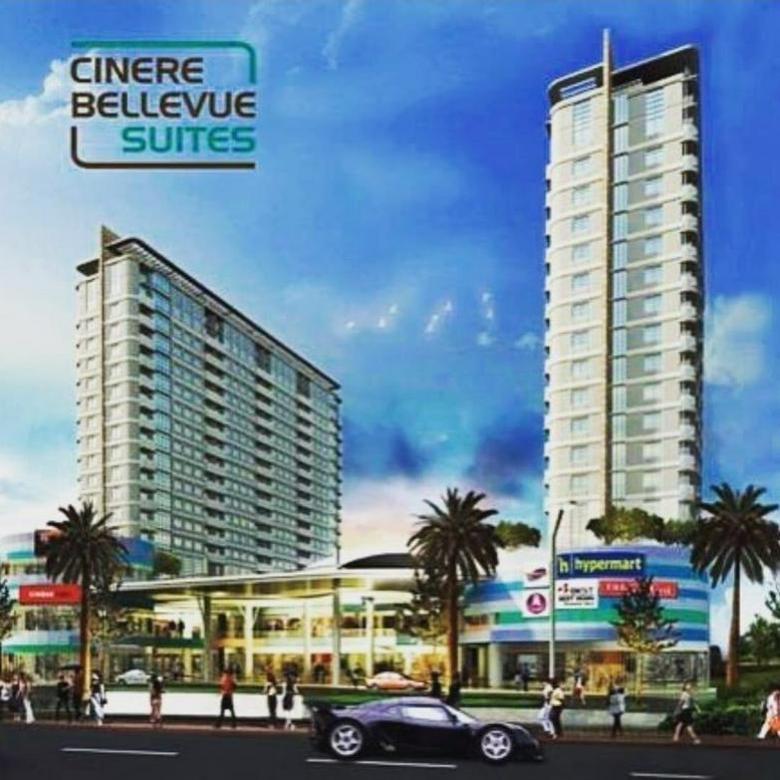 Siap huni Cinere Bellevue Tanpa DP bisa KPA type 2bedroom