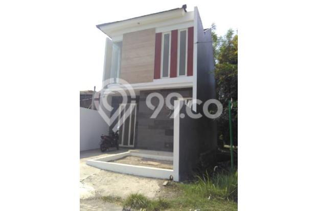 Rumah ROW JALAN 12m, NEW, MINIMALIS di Rungkut Asri Tengah 4495381