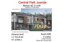 Rumah Central Park Juanda Sidoarjo Strategis Baru