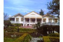 villa puncak 8 kamar murah, luas,full fasilitas