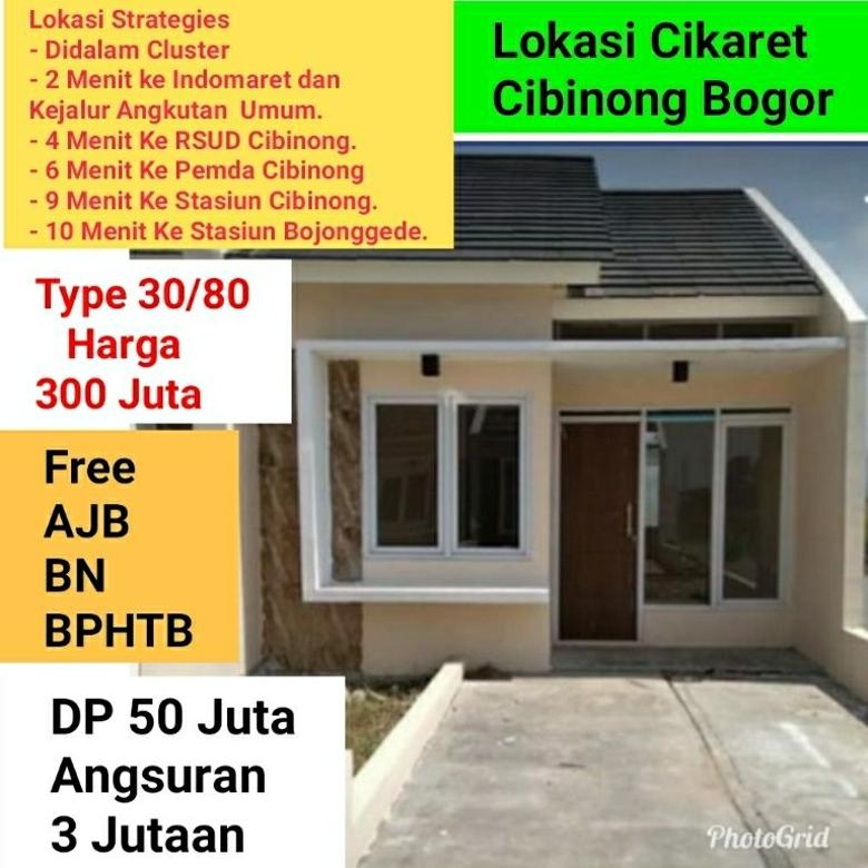 Di Jual,Rumah Minimalis Cibinong, Bogor