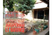 Rumah bebas banjir dan siap renovasi di Jakapermai Bekasi