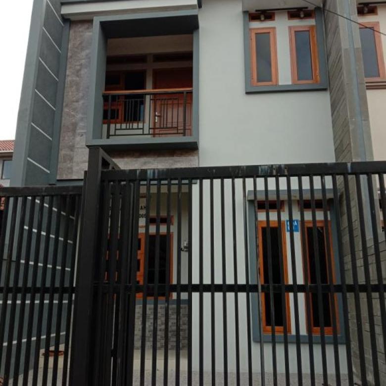 Rumah Lux Baru Minimalis 2Lt strategis di area bisnis Buahbatu