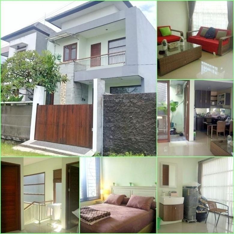 HOUSE FOR SALE, Dijual rumah 2 Lt minimalis elit di Tukad Badung, Renon