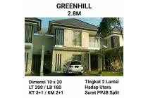 Dijual Rumah GreenHill Citraland Surabaya Barat Semi Furnish Nego