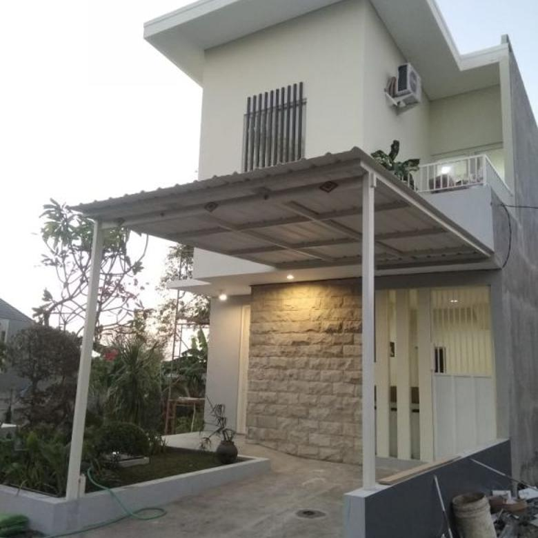 Rumah Kalijaran on progress for sale