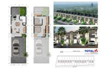 Dijual rumah minimalis 2 Lt view GWK di Puri Gading, Jimbaran