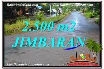 Tanah di Lingkungan Villa 2,500 m2 di Jimbaran Ungasan JBRZ118