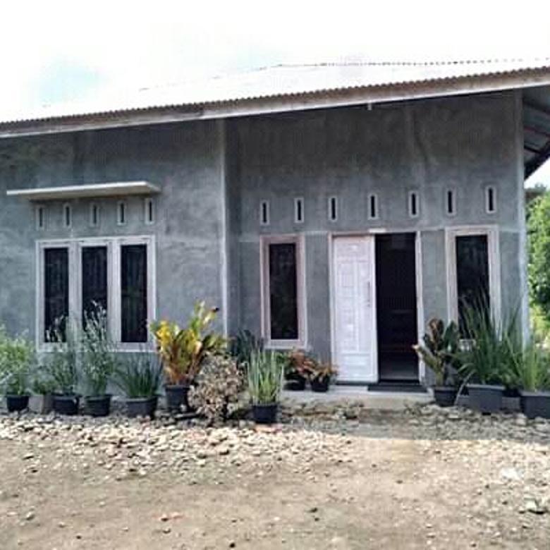Dijual Rumah Baru Mentah (Bisa Berinovasi Warna Cat Sendiri)