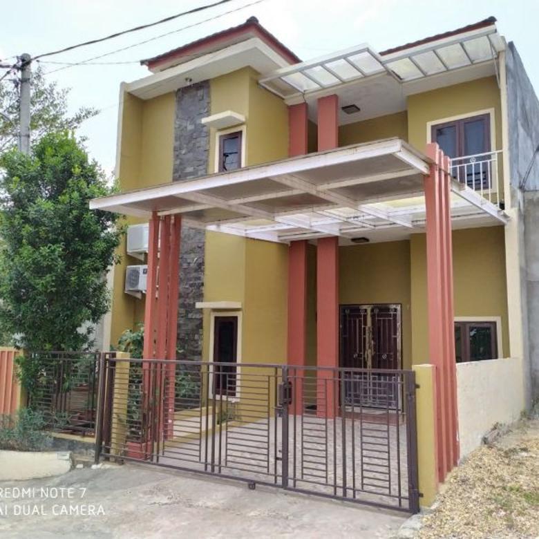 Rumah Minimalis 2 Lantai dekat Hutan Kota Mayang-Kenali Jambi