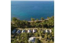 Tanah dan villas pinggir pantai di Gondang - Lombok Utara.