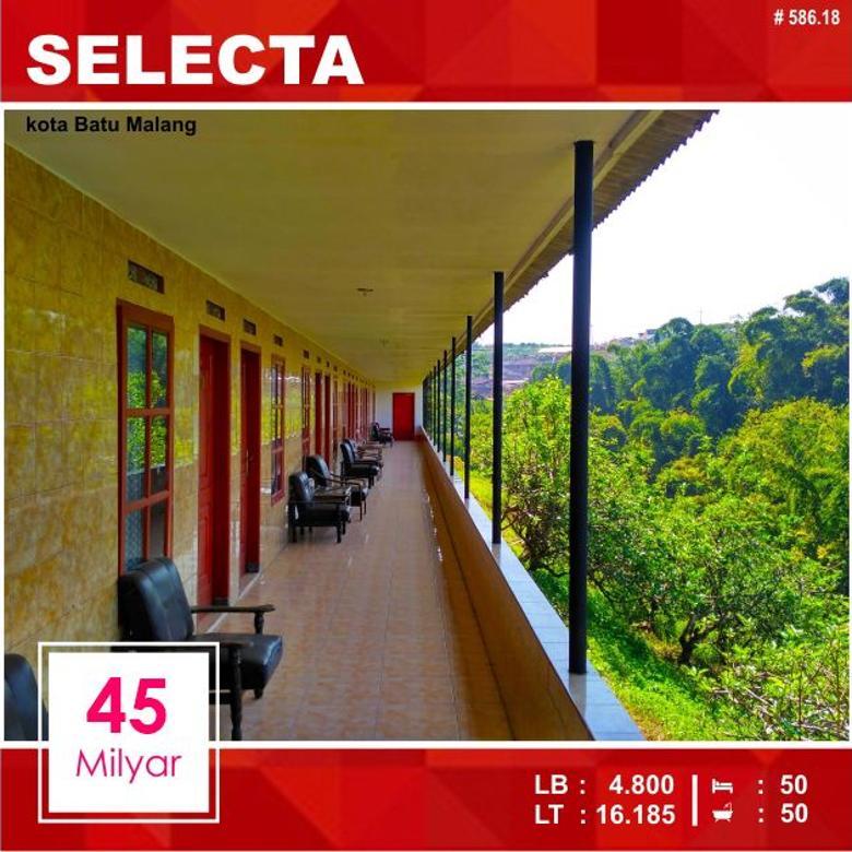 Hotel di Selecta kota Batu Malang _ 586.18