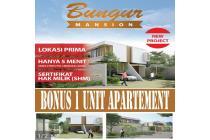 Rumah dijual di cibubur type 138/105 Bonus Apartemen