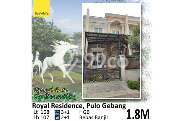Dijual Rumah Baru lt108 di Royal Residence Pulo Gebang Jakarta Timur 19379395