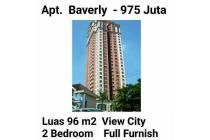 Apartement Beverly Surabaya 2BR Lantai 21 Luas