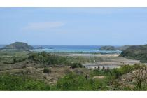Hilly Land in central Kuta Lombok with ocean views and Tanjung Aan