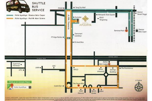 Rumah Dijual Cepat di Ayodhya Garden House CBD Tangerang 15799603