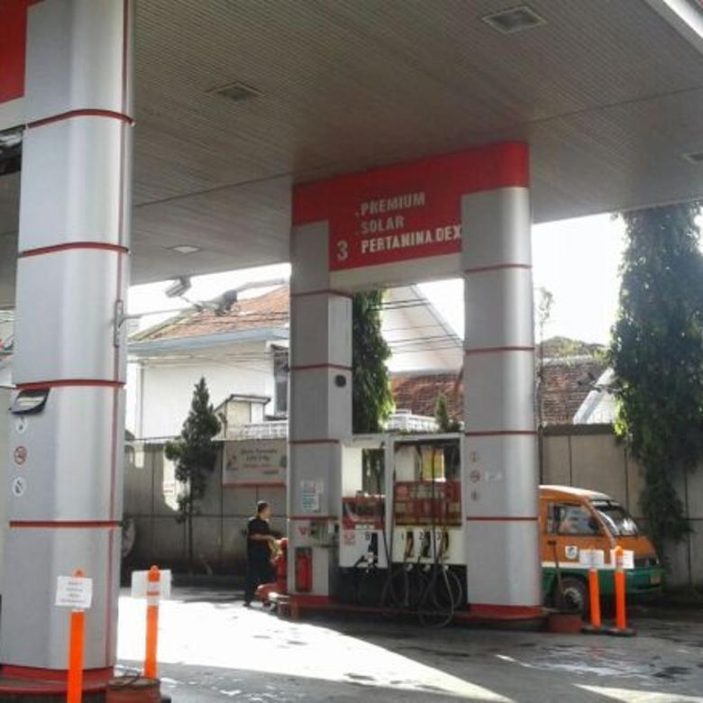 SPBU pertamina aktif Pas Pas Di kota Bandung