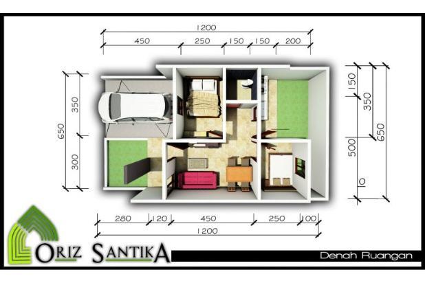Rumah 420 Juta Nempel Taman Wisata Pasir Putih Depok 6152853