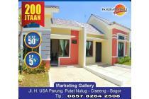 Rumah 200 jutaan 2 kamar di Panorama Bali Residence