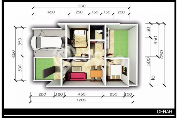 Dijual Rumah Dekat Stasiun Cicilan 5 Jutaan di Pasir Putih Depok 9659105