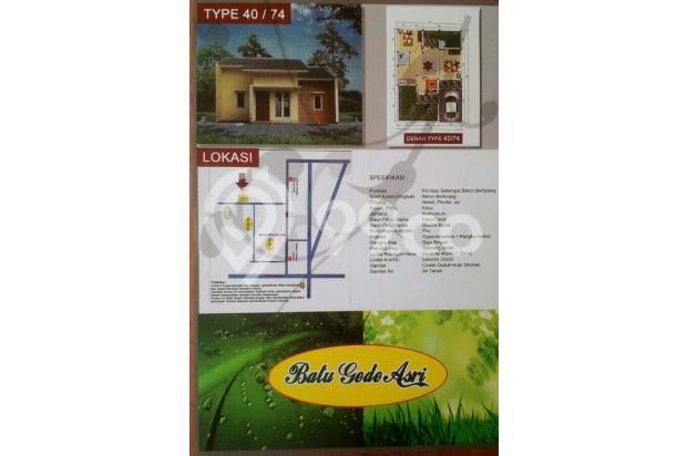 rumah murah dekat stasiun cilebut tdp 7jt gratis semua biaya 13096594