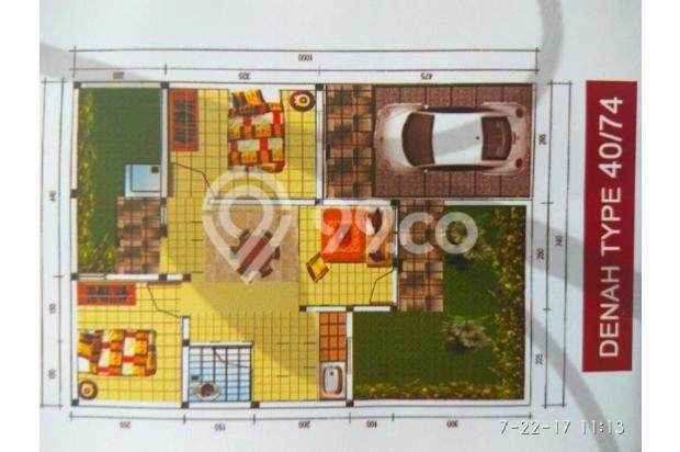 rumah murah dekat stasiun cilebut tdp 7jt gratis semua biaya 13096595