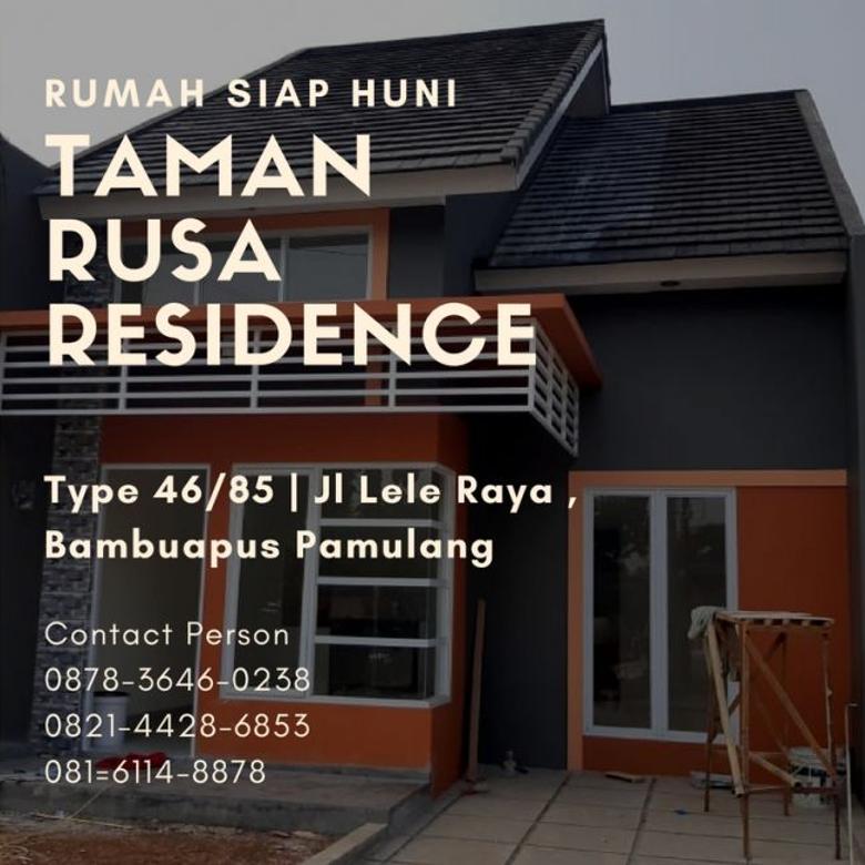siap huni, 0878-3646-0238, rumah mewah modern di pamulang