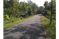 Tanah Pekarangan SHM 380m2 LD:10m. Jogja Barat