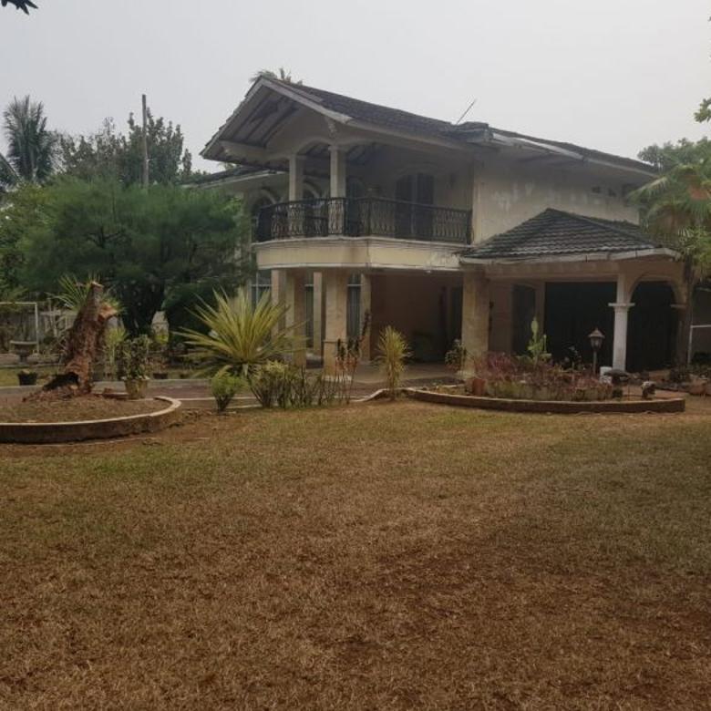 Rumah Strategis Pinggir Jalan raya dgn tanah luas di Jagakarsa