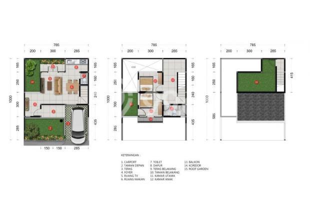 Rumah Baru Siap Huni Desain Mewah View Cantik di Sayap Setiabudi Bandung 17181479