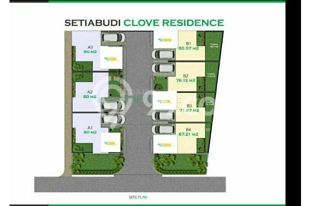 siteplan Setiabudi Clove Residence Bandung 17223432
