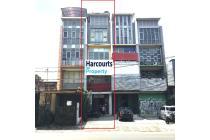 Ruko Dijual Bangunan 4,5 lantai area Pos Pengumben