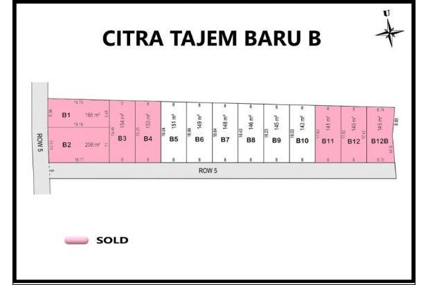 Rp528jt Tanah Dijual