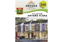 Aryana Karawaci, rumah 1 lantai lsng jd 2 lt,3jt an perbulan, dp 10% 12x
