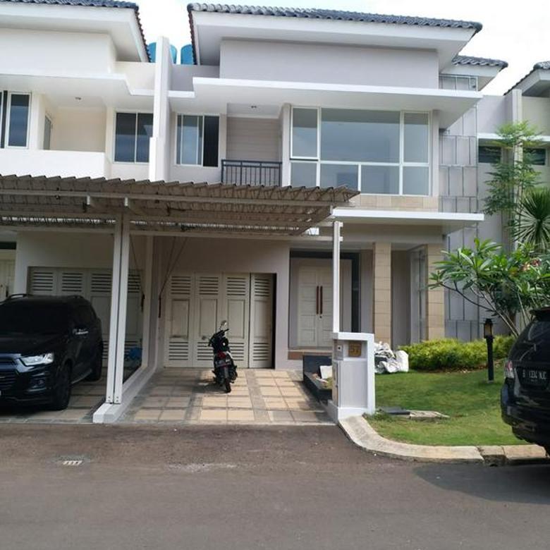 Rumah Modern di cluster GoldFinch Summarecon Gading Serpong