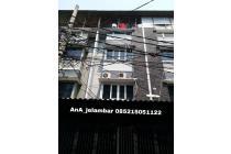 Ruko 4 lantai uk 4.5x20m cocok kerja Konveksi di Jelambar