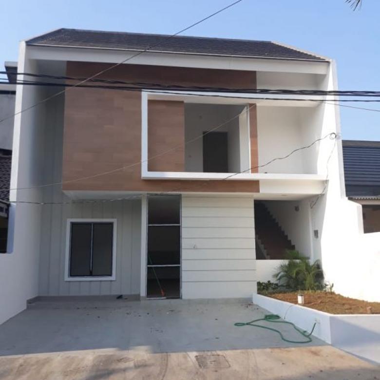 Rumah Renovasi Total di Graha Raya Bintaro