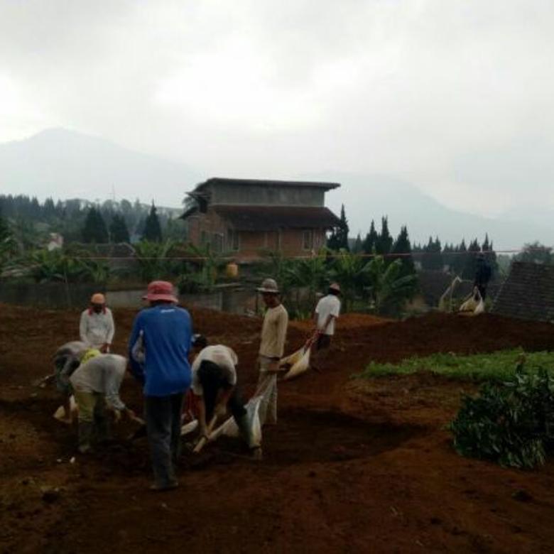 Di jual tanah kavling murah masuk mobil view pegunungan di cianjur