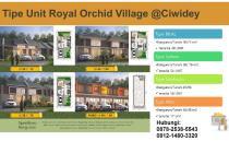 Rumah Villa Mewah Skema Syariah Royal Orchid Village Ciwidey