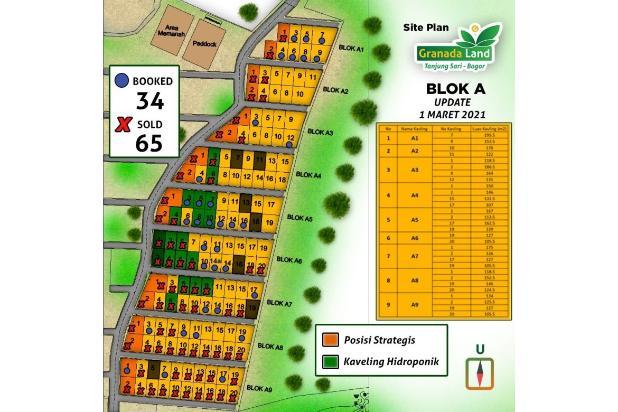 Rp45jt Tanah Dijual
