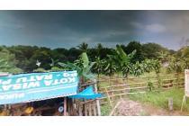 tanah dijual luas 3700 m2 di pinggir jalan ciangsana cibubur bogor