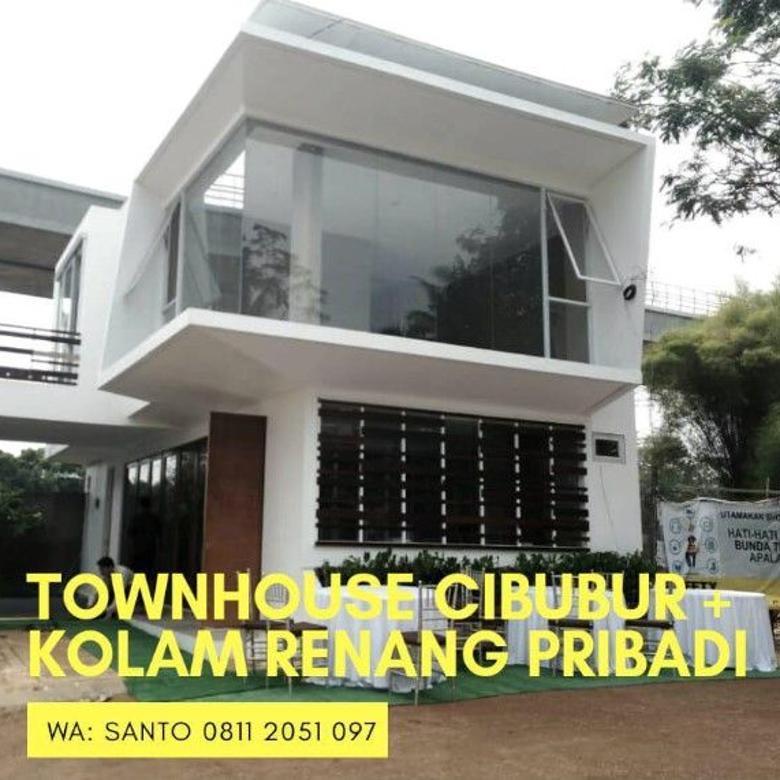 Rumah Minimalis 2 Lantai Di Cbubur Ada Kolam Renang Pribadi