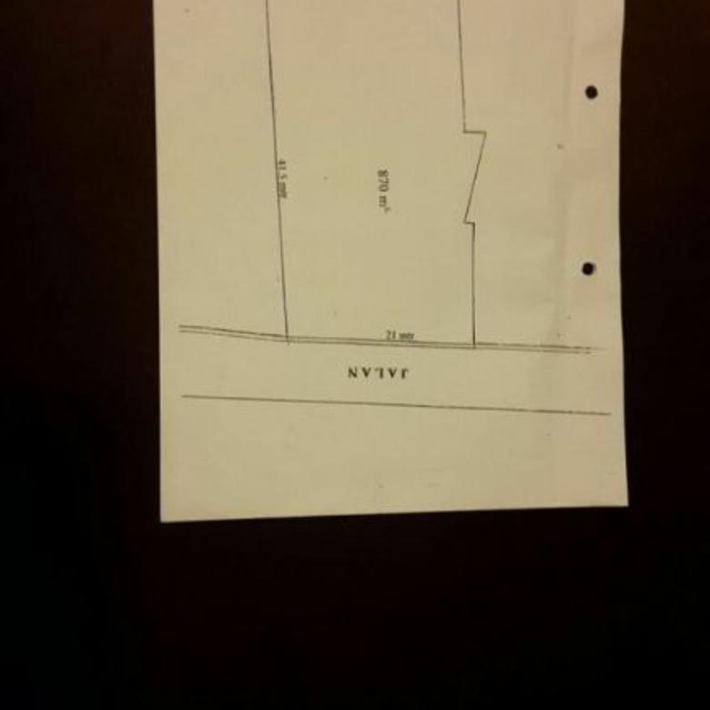 Djual tanah strategs di Cilandak Ry, cocok utk rumah, ktr bisa smpai 3 lt